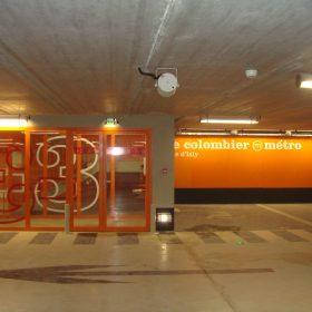 Parking sous-terrain Charles de Gaulle  – Rennes