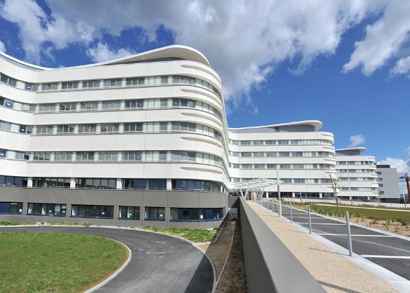 Signalétique du centre hospitalier CHBS