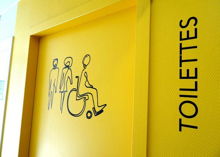 Identification toilettes - Signalétique des urgences