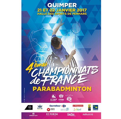Championnat France Parabadminiton 2017