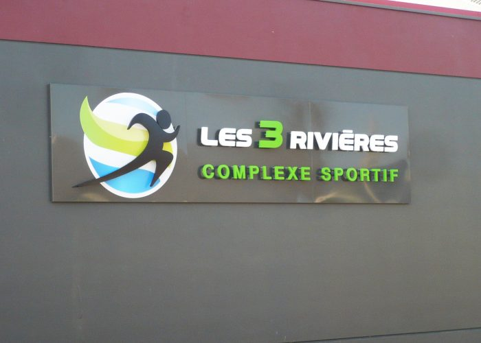 Complexe sportif - Enseigne