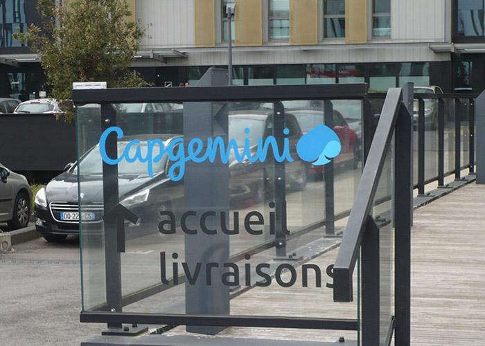 Capgemini - Décor adhésif - Identité visuelle