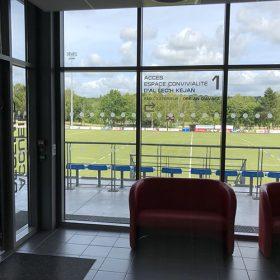 Jalonnement du stade de Créac'h Gwen – Quimper