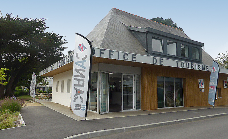 Office de tourisme enseigne carnac plage