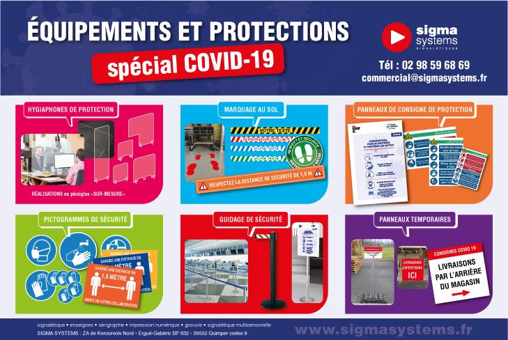 Equipements et protections sur mesure spécial COVID-19